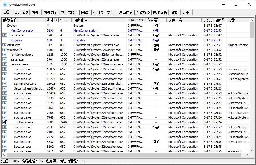反病毒工具 PCHunter v1.5.7